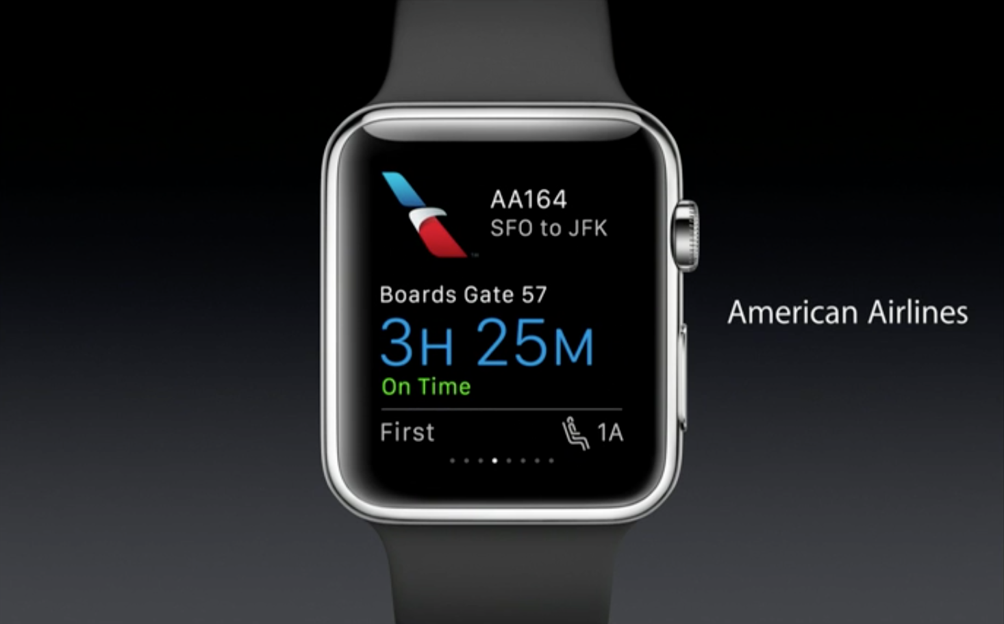 American Airlines Apple Watch