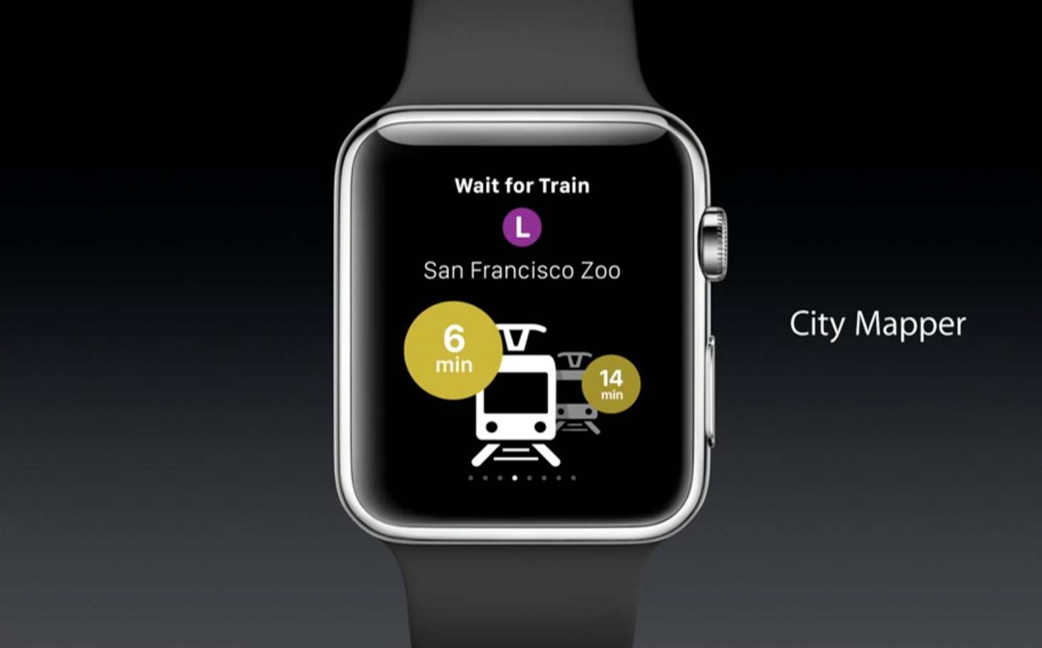 Citymapper Apple Watch