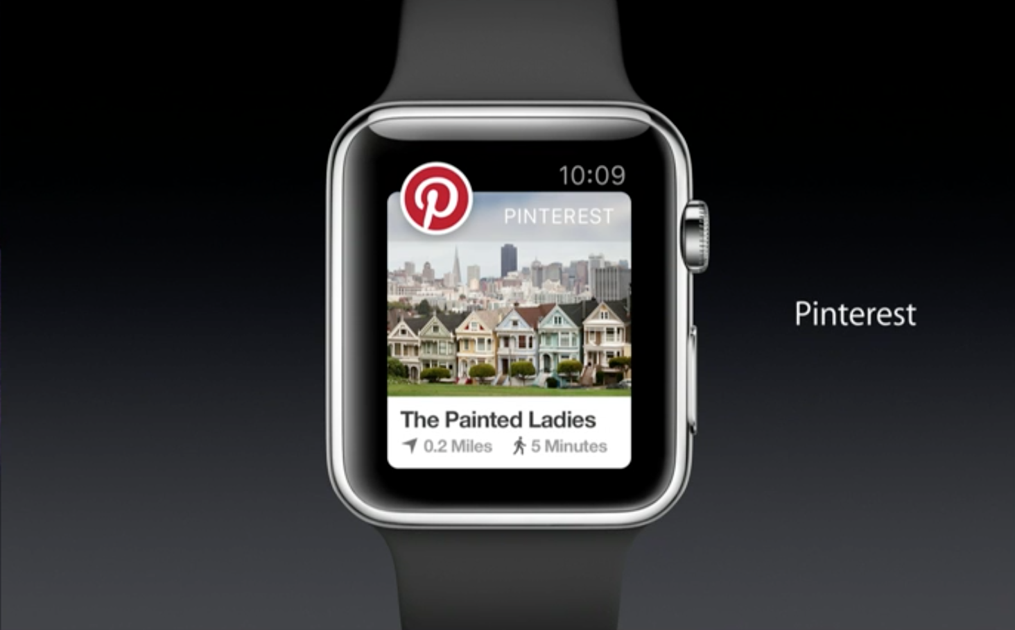 Pinterest Apple Watch