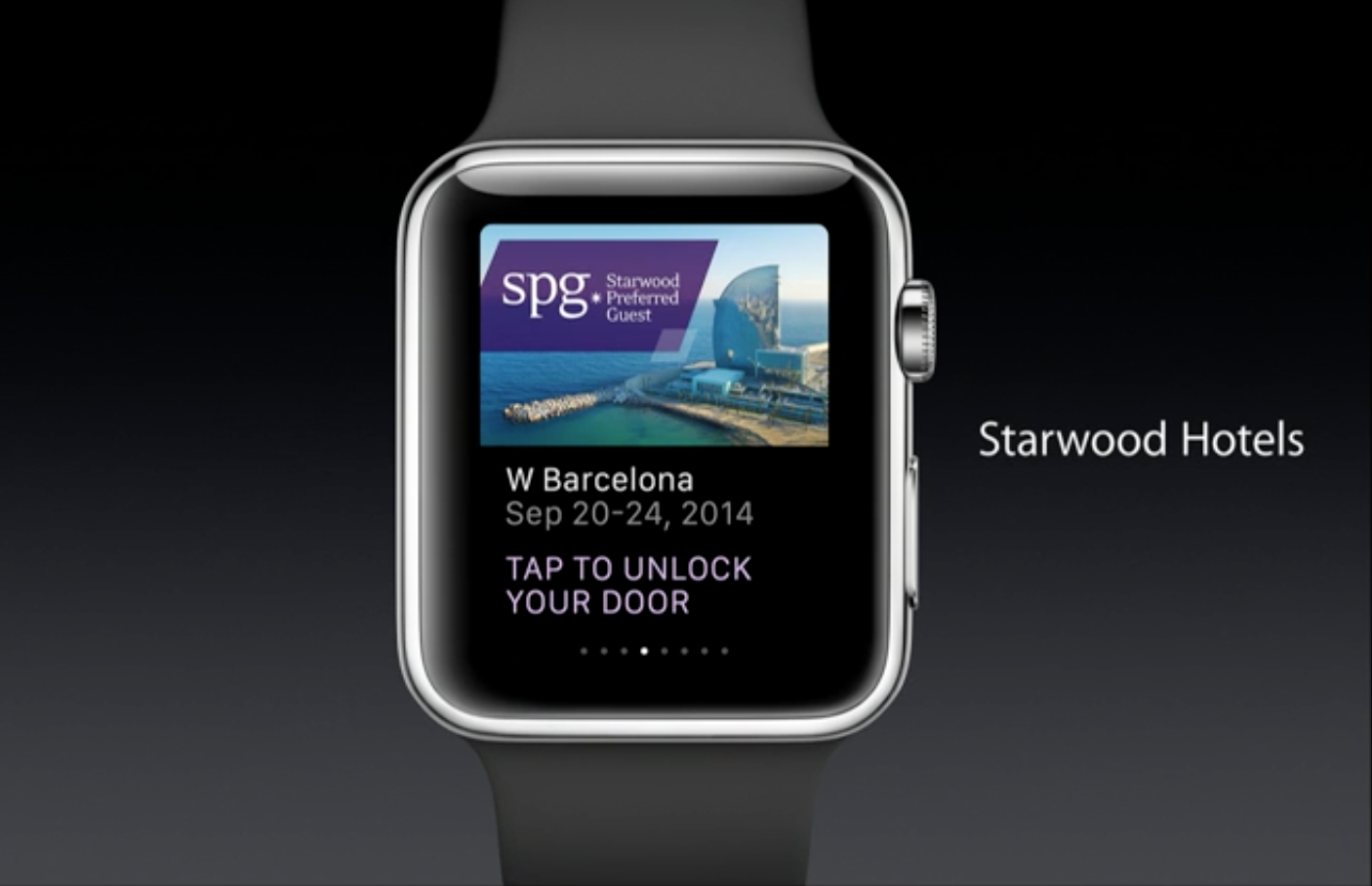 Starwood Apple Watch